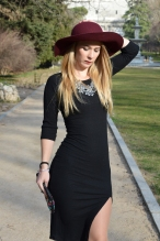 Bershka Dress Miss Swan Gea Ballmann